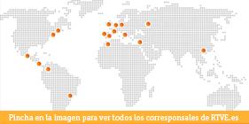 Mapa de corresponsales